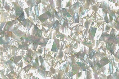 Photo pour Faceted mother of pearl pattern warm - image libre de droit