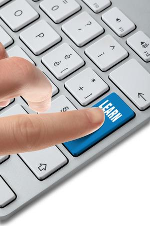 Foto per keyboard button choice - Immagine Royalty Free