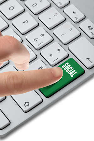 Foto per keyboard button chaise - Immagine Royalty Free