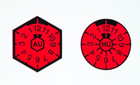 German AU and HU-badge