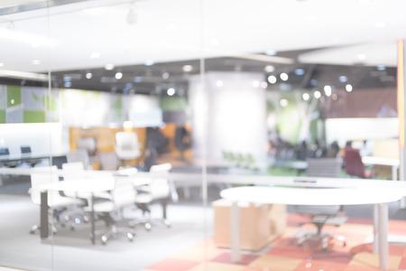 Photo pour Blurred of office - ideal for presentation background. - image libre de droit