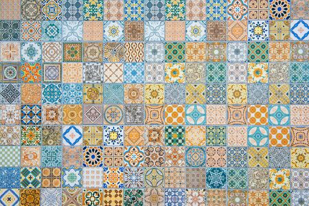 Photo for ceramic tiles patterns - Royalty Free Image