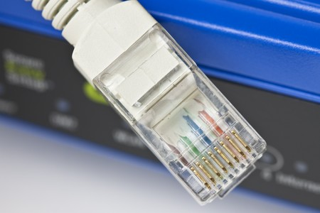 Wireless router and Lan cable
