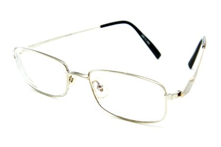 Glasses isolated on a white