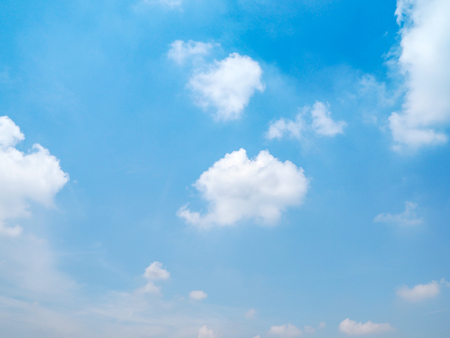 Blue sky and cloud for natural background