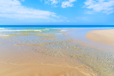 Photo pour View of beautiful beach and sea, Sylt island, Germany - image libre de droit