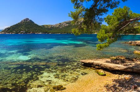 Beautiful coast of Majorca island at Cap Formentor, Spain