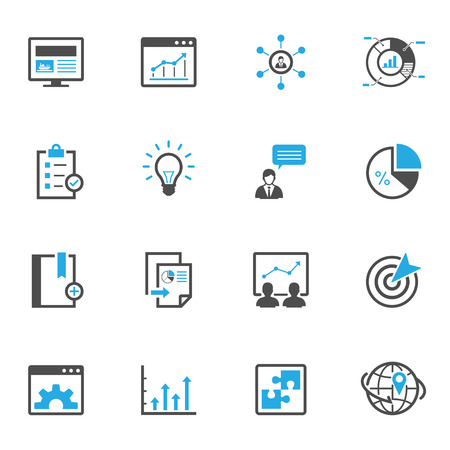 SEO and Development Icons