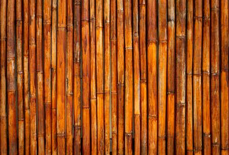 Photo pour Old yellow Thailand bamboo texture backgronuds patterns. - image libre de droit