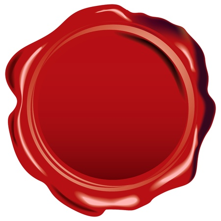 Illustration pour Rubber seal stamp with place for your text or logo  - image libre de droit