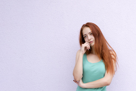 Photo for Charming red hair girl - Royalty Free Image