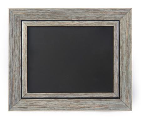 Blank blackboard in a frame