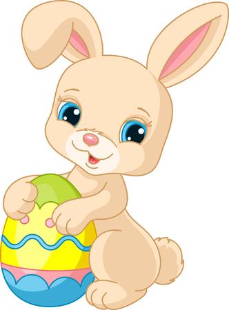 Photo pour Easter bunny - image libre de droit