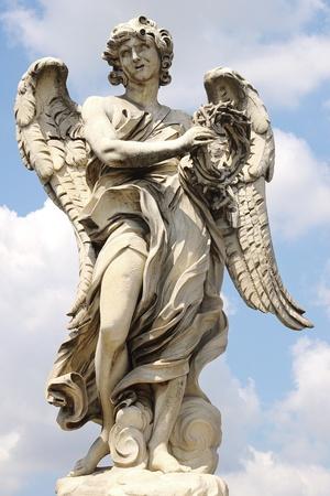 Ponte Saint Angelo  Rome, italy