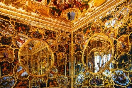 Mirror Cabinet in Wurzburger Residenze  Wurzburg, Germany