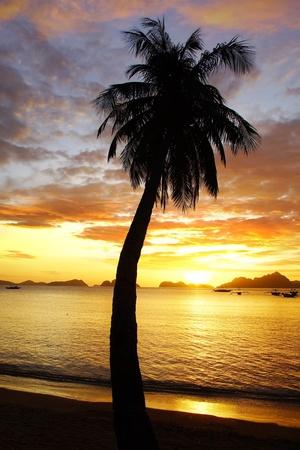 Sunset at Corong corong  be