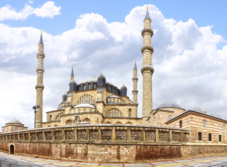 Selimiye Mosque, designed by Mimar Sinan in 1575.  Edirne