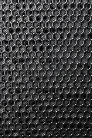 Black Iron Grill and the substrate from the grid as a background