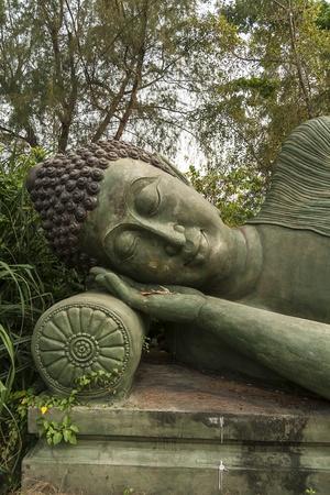 Buddha image style nirvana
