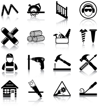 Carpentry related icons
