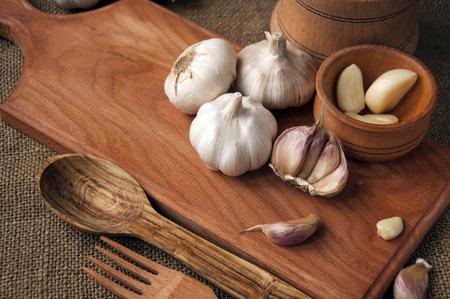 Foto für Garlic ingredients for savory dishes - Lizenzfreies Bild