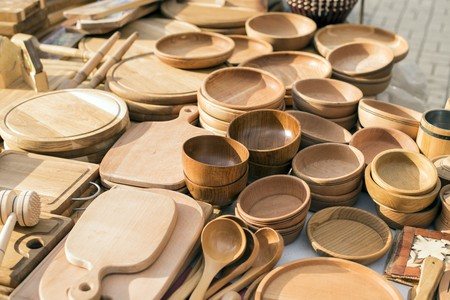 Pleasing Handmade Wooden Vintage Kitchen Utensils For Sale At The Download Free Architecture Designs Grimeyleaguecom