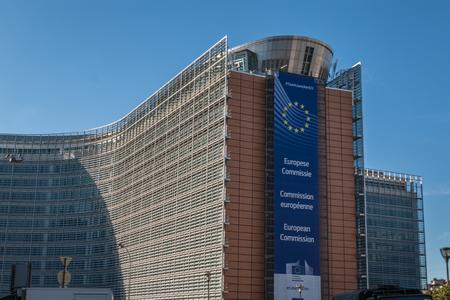 Foto de The European Commission in Brussels Belgium - Imagen libre de derechos