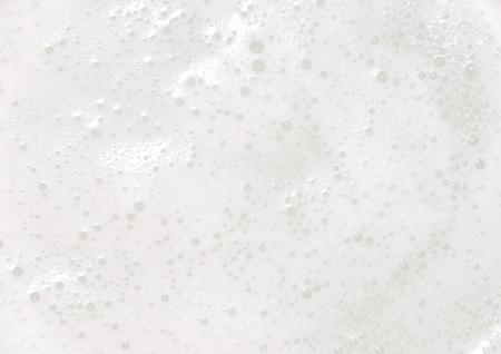 White foam