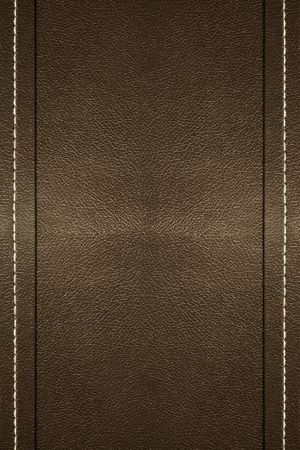 a background of leather with stitching on the edges