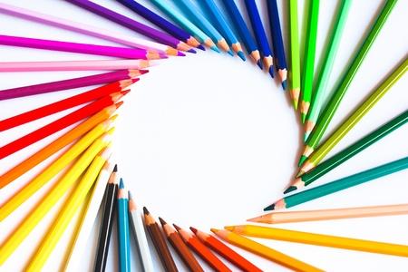 Photo pour Coloured pencils - image libre de droit