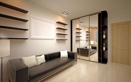 Photo pour modern living room - image libre de droit