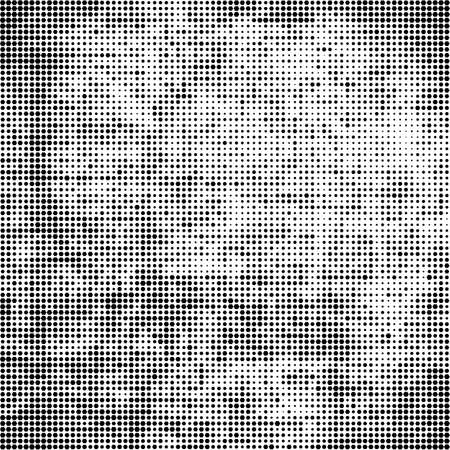Ilustración de Modern random pixel pattern template. Monochrome art smoothing effect. halftone dots style. vector illustration for web sites, posters, brochures - Imagen libre de derechos
