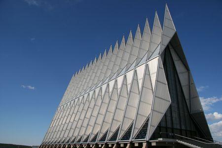Air Force Academy Chapel, Colorado Springs, Colorado, USA