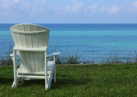 Beach Chair with Ocean View