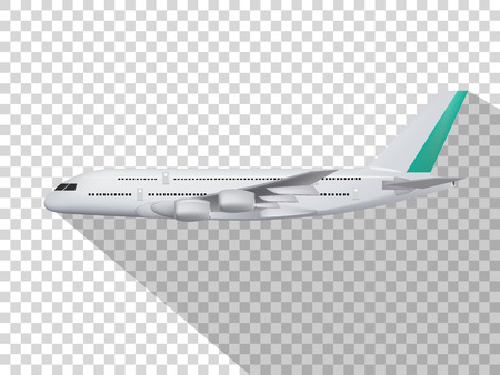 Illustration pour concept design of vector,concept design of plane,plane on the transparent background,model of plane,cute design of plane. - image libre de droit
