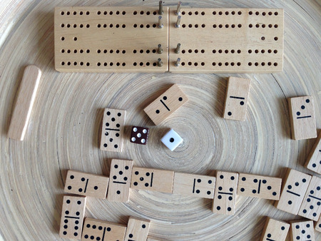 set of dominoes