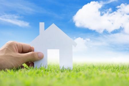 Foto de concept image of my dream house - Imagen libre de derechos