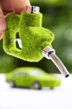 Photo pour eco fuel nozzle - image libre de droit