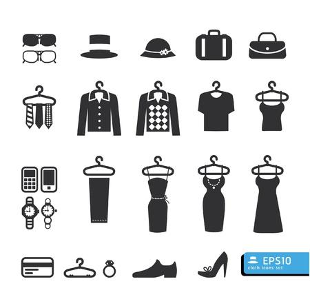 Ilustración de Clothing Store Icon vector - Imagen libre de derechos