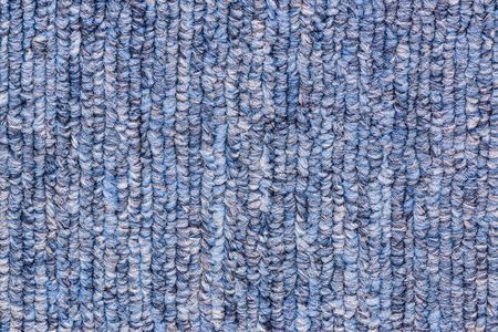 Blue fabric texture background. Textile carpet