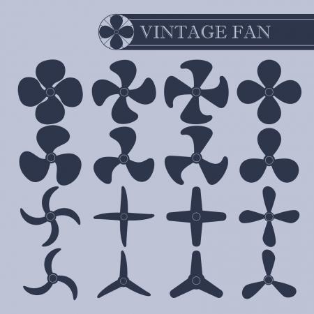 Vintage fan part
