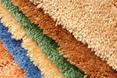 Samples of collection carpet, for backgrounds or textures