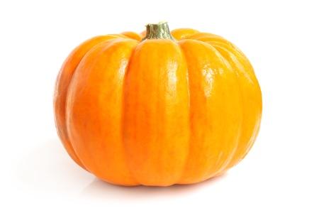 Fresh pumpkin on a white background