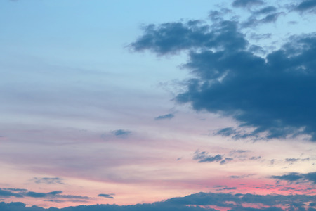 Cloudy and sunset sky, for backgrounds or textures