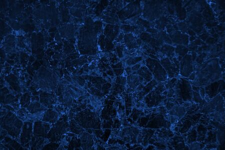 Photo for Blank blue stone texture abstract background with dark corners - Royalty Free Image