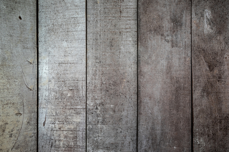 Photo for Background textures or old wooden wallpapers laid the vertical, gray and light brown painted in retro style. - Royalty Free Image