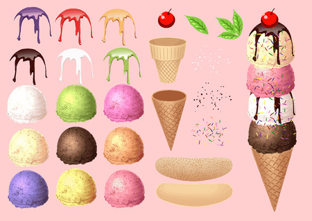 Make Ice cream by your design - collection 1