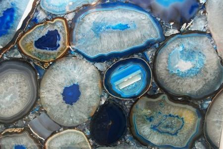 Blue Cut Agate