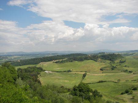 Foto per Panorama Toscana - Immagine Royalty Free