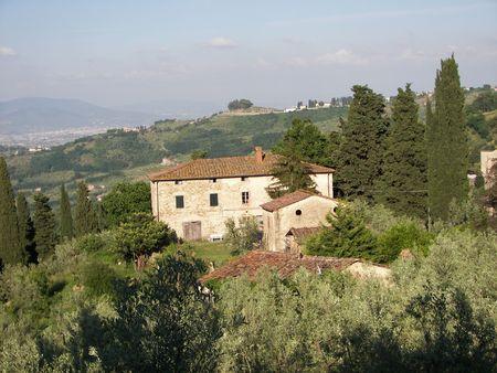 Foto per Casa Colonica in Toscana - Immagine Royalty Free